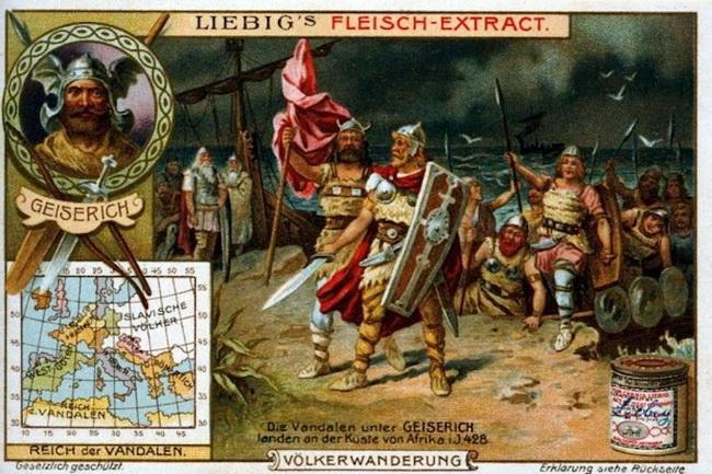 גייזריך מלך הוונדלים בצפון אפריקה