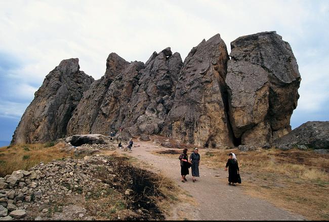 בש ברמאק - טיול באזרבייג'אן