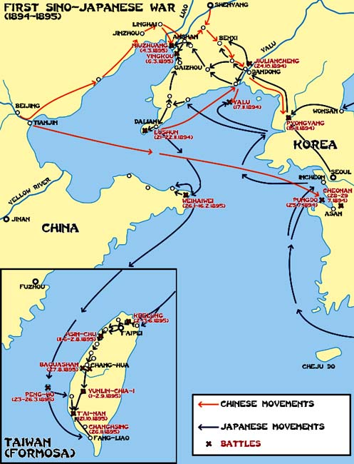 מלחמת סין - יפן הראשונה