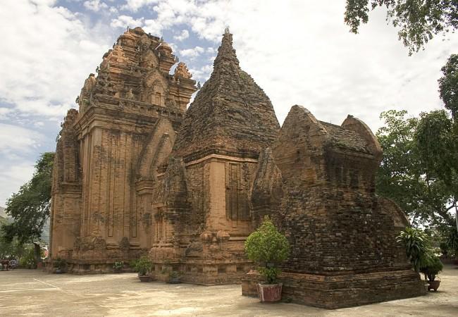 המקדשים הצ'אמים במרכז ויטנאם. באדיבות ויקיפדיה