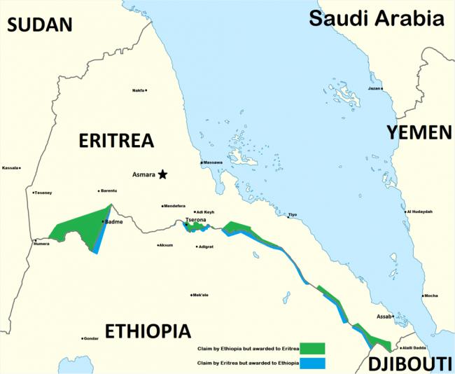 מלחמת אתיופיה - אריתריאה
