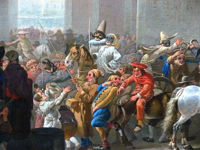 הקרנבל העתיק של רומא. באדיבות Wikipedia