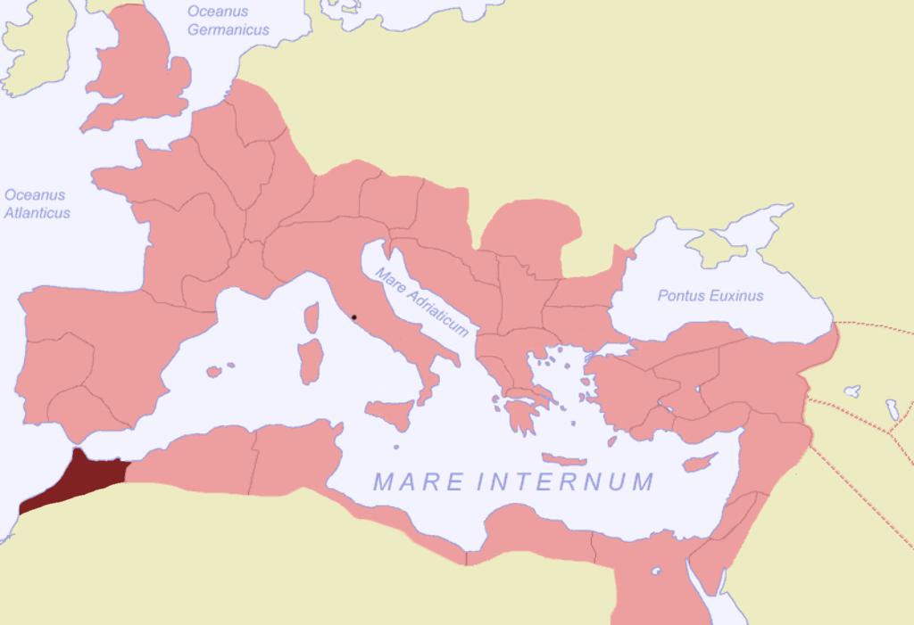 מאוריטנה טינגיה בתקופה הרומית