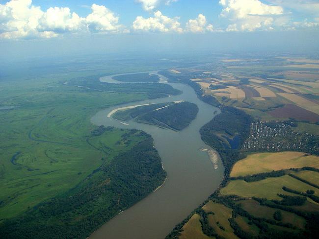 נהר אוב ליד ברנהול. צילום ויקיפדיה