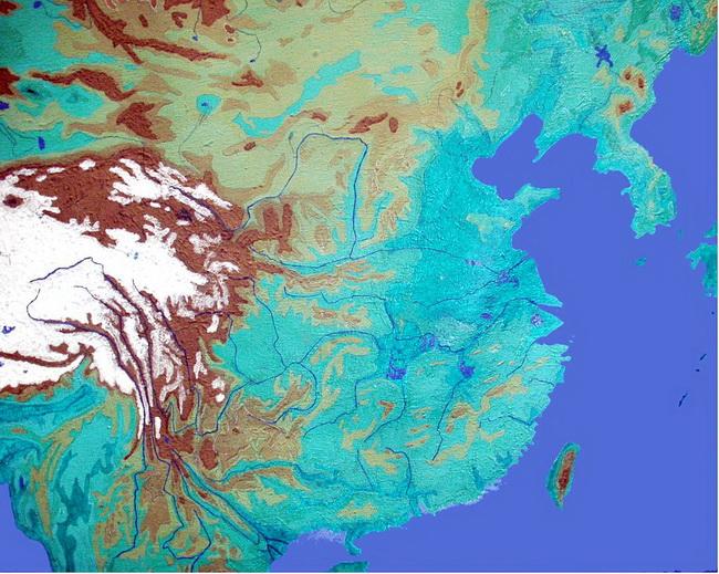 מפת הנהר הצהוב