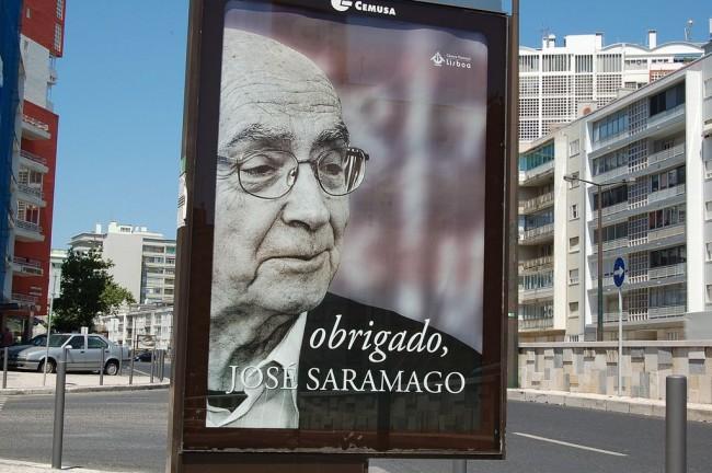 ז'וזה סאראמאגו. באדיבות Wikipedia
