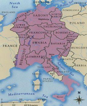 תחום שלטונו של פרידריך השני