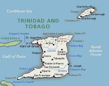 מפת טרינידד