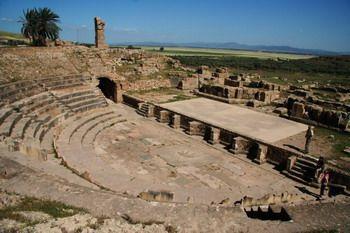 תיאטרון רומאי בבולה רגיה (תוניסיה)