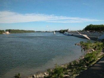 הנהר רון