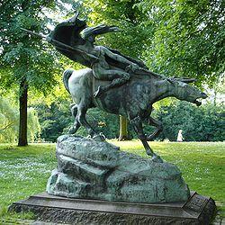 פסל וולקריה בקופנהגן