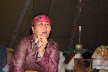 שאמאנית באגם חופסגול, מונגוליה