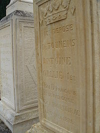 קברו של ההרפתקן הצרפתי
