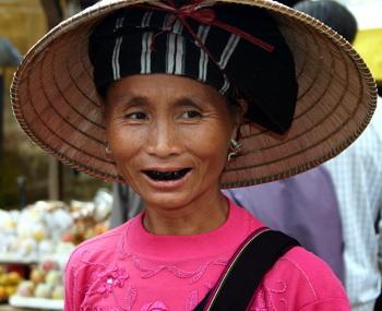 שחורי שיניים בצפון וייטנאם