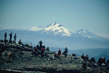 מטפסים עייפים על ראש ההר