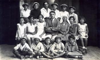 ילדי בית הספר בג'דה