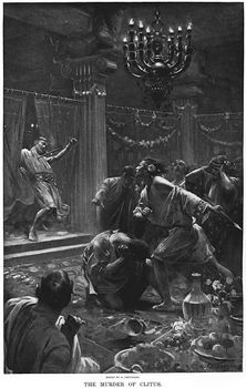 אלכסנדר הורג את קליטוס השחור