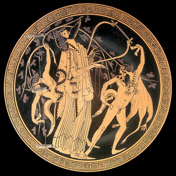 דיוניסוס והסטירים