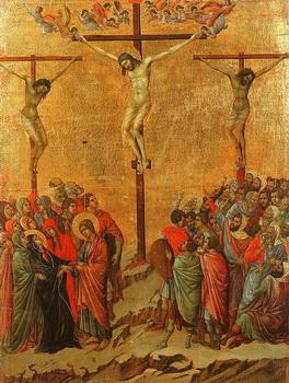 ישו ושני השודדים על הצלב