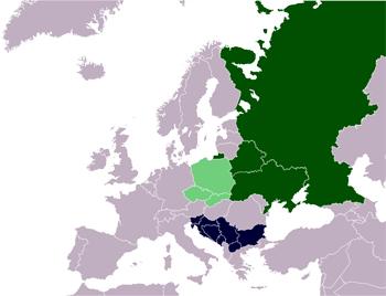 התפשטות הסלאבים באירופה