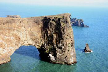 מצוק דירהוליי באיסלנד
