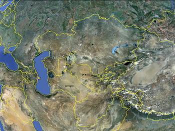 מפת טורקסטן