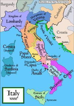 איטליה בתקופת הכיבוש הערבי