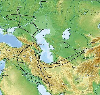 מסעו של טימור כנגד הורדת הזהב