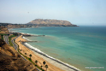 מבט על החוף ממירה פלורס