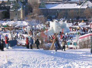 Carnaval in Quebec City