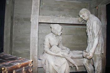 תיאור הרעב במוזיאון אלסטר