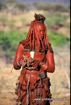 בת לשבט ההימבה
