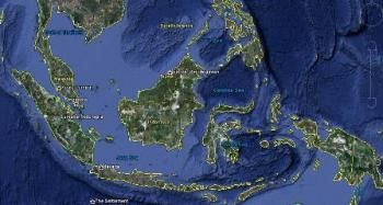 אינדונזיה: צילום לוויין