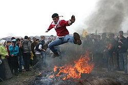 כורדים חוגגים נורוז באיסטנבול