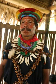שאמאן ביער הגשם של אקוודור