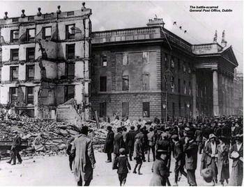בית הדאר של דבלין בעת המרד