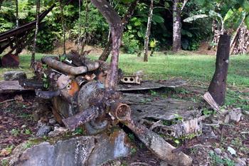 שרידי מטוס יפני