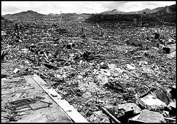הירושימה בהריסות