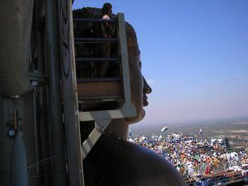 פסל בבולו בפסטיבל