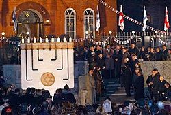 חגיגות בטבליסי לציון 60 שנה לישראל