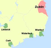 חיופי נחיתת הויקינגים באירלנד