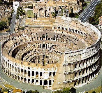 אמפיתאטריום פלביום - רומא