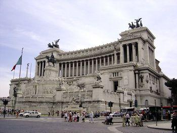 המונומנט לזכרו ש ויטוריו עמנואל השני, ברומא