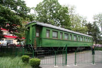 קרון הרכבת בו נסע סטלין