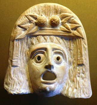 פרסונה (מסכה) של דיוניסוס