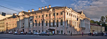 ארמון סטרוגנוב בסנט פטרבורג