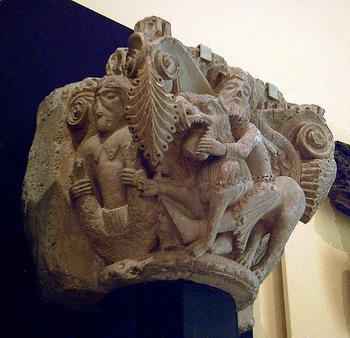 כותרת רומנסקית מהמאה ה-12