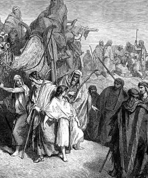 מכירת יוסף - גוסטב דורה