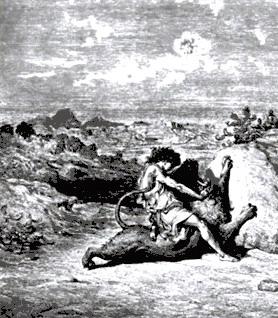 שמשון לוחם בארי - גוסטב דורה