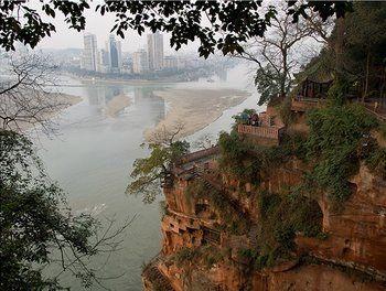 הנהר מין, סצ'ואן